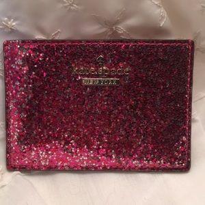 ❤️Kate Spade Glitterbug Cardholder • NWOT❤️